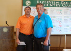 Young Pro Winner Jason Schmuhl with Riverview's Pro Bill DeWildt