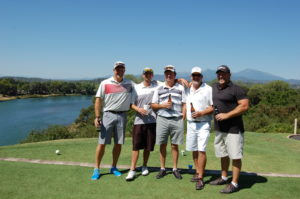 Winning team of Strokes for Little Folks Pro-Am 2016
