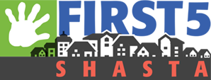 First 5 Shasta town hall logo